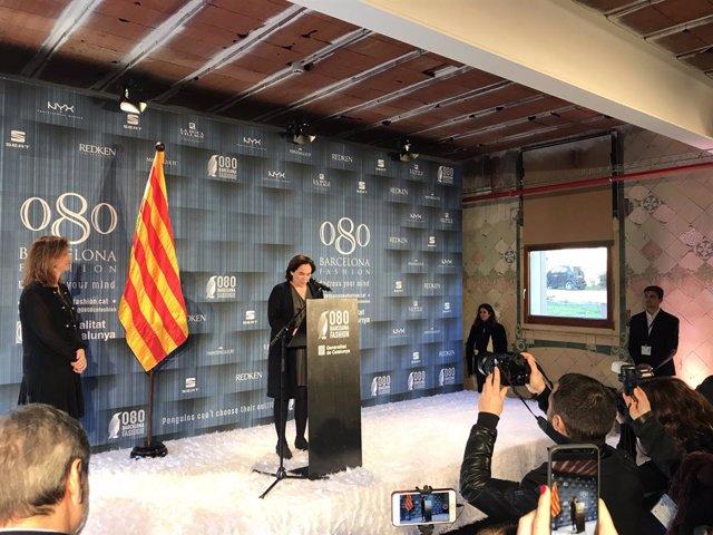 Colau inaugura la 080 Barcelona Fashion al Recinte Modernista de Sant Pau