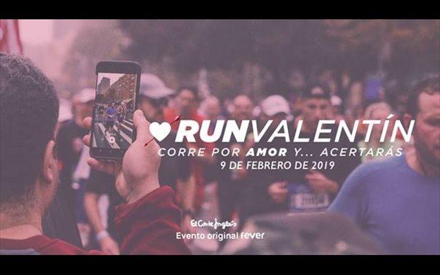 FEVER y El Corte Inglés organizan este sábado la segunda edición de la carrera Run Valentín