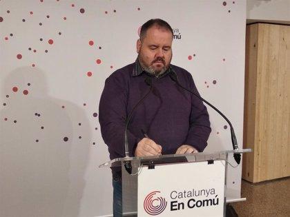 """CatComú manté suspesa la negociació dels pressupostos: """"Tot segueix igual"""""""