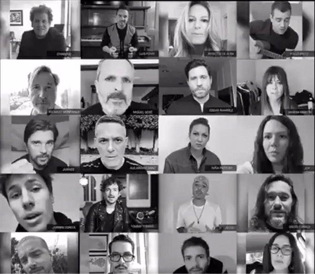 Artistas internacionales reconocen a Guaidó a través del video de Twitter de Ale