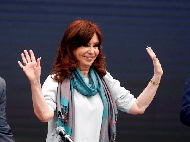 FILE PHOTO: Former Argentine President Cristina Fernandez de Kirchner attends a