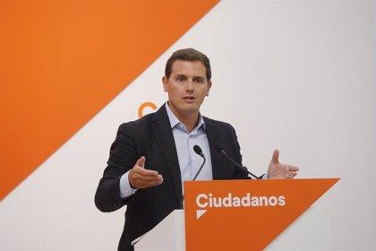 """Rivera espera que, tras la """"rectificación"""" de Sánchez, España y Europa apoyen a Guaidó """"en lo que necesite"""""""