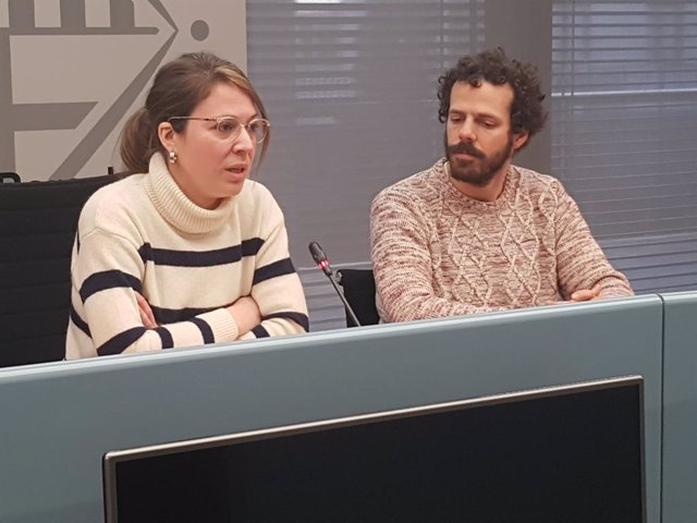 Janet Sanz i Jordi Matas
