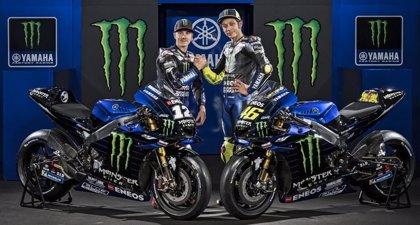 """Yamaha presenta su nueva """"bestia"""", la YZR-M1 que pilotarán Rossi y Viñales"""