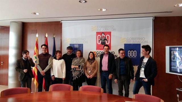 Mayte Pérez presenta en Teruel la segunda edición del MIL Festival con alcaldes