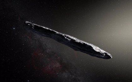 Oumuamua, resto de un exocometa que se desintegró antes del perihelio