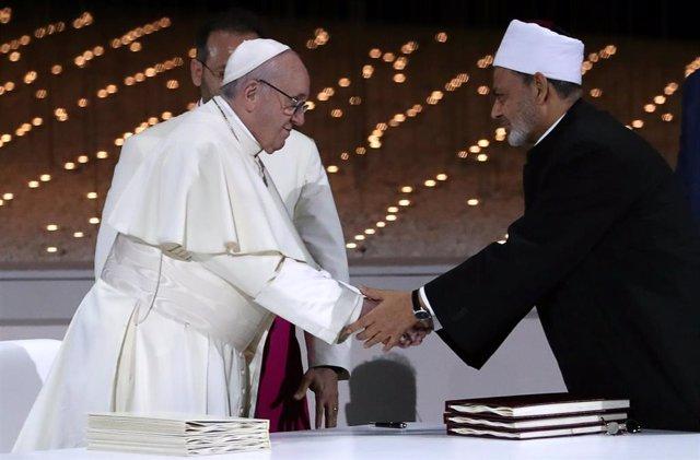 Papa e imán de Al-Azhar