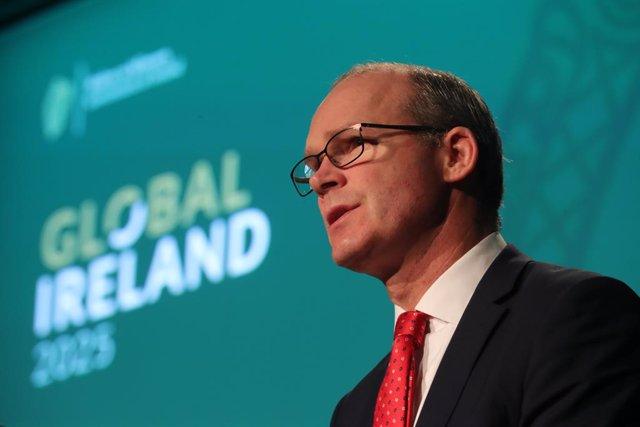 Simon Coveney, ministro de Exteriores de Irlanda