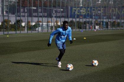 Messi y Dembélé trabajan aparte para poder jugar la Copa