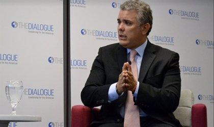 """Duque acusa a """"sectores cercanos a la dictadura de Venezuela"""" de apoyar a los disidentes de las FARC"""