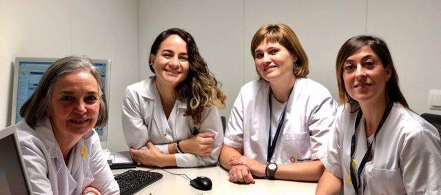 Grupo del CIBEREHD en la Fundación Mútua Terrassa coordinado por María Esteve