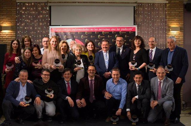 La Asociación de Enfermedades Raras D'Genes entre sus premios 2019