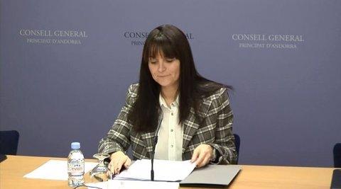 La Subsíndica General Mònica Bonell (arxiu)