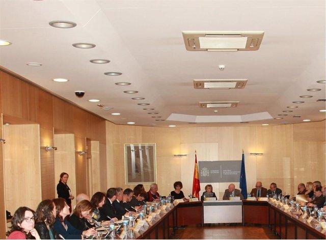 Reunión expertos de la AP con la ministra de Sanidad