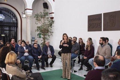 """Susana Díaz llama a usar las redes para construir una mayoría amplia para el 26M y enfrentar """"los ataques a Andalucía"""""""