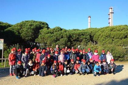 La Fundación Cepsa celebra con escolares de Huelva el Día Mundial de los Humedales