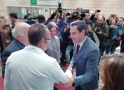 """Moreno dice que """"el mejor plan de empleo"""" en Andalucía es bajar impuestos y crear el """"clima adecuado"""" para la inversión"""