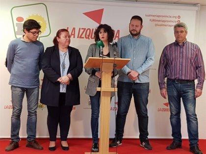 IU presenta a sus candidatos para las próximas elecciones muncipales en Almería bajo la marca 'Adelante'