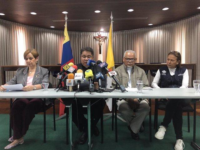 Rueda de prensa de la Conferencia Episcopal de Venezuela