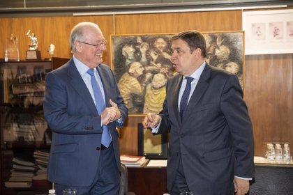 Representantes DOCa Rioja mantienen un encuentro con el ministro de Agricultura para analizar la situación del sector