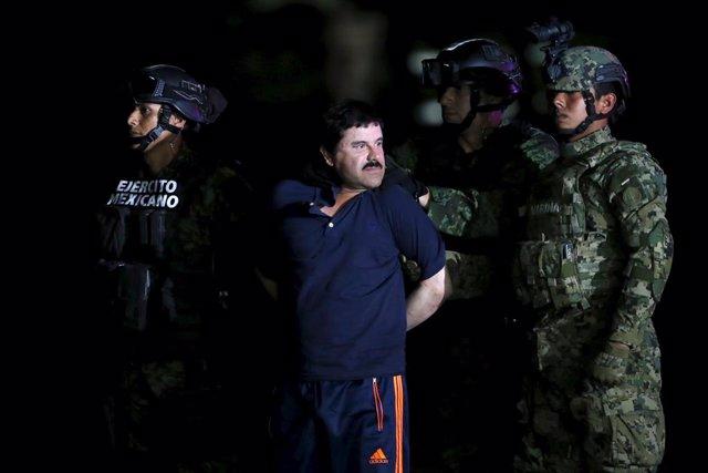 Joaquín 'El Chapo' Guzmán, detenido