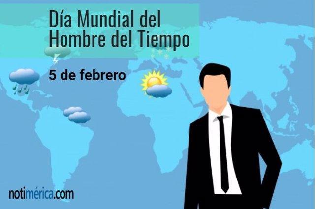 Día Mundial del Hombre del Tiempo