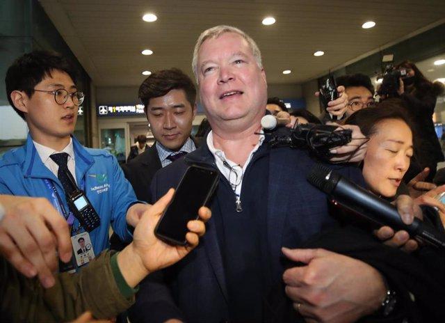 US envoy for North Korea arrives in South Korea