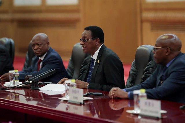 Primer ministro de República Democrática del Congo, Bruno Tshibala