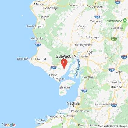 Un sismo de 6 grados sacude el oeste de Ecuador