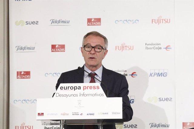 Esmorzar Informatiu d'Europa Press amb José Guirao