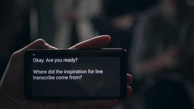 Google lanza su aplicación Live Transcribe