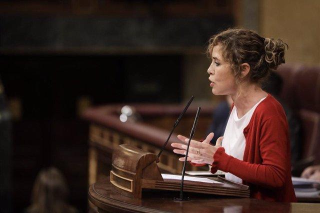La diputada de Ciudadanos Marta Martín