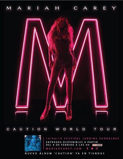 En el Festival Jardins Pedralbes actuarà Mariah Carey, el seu únic concert a Espanya