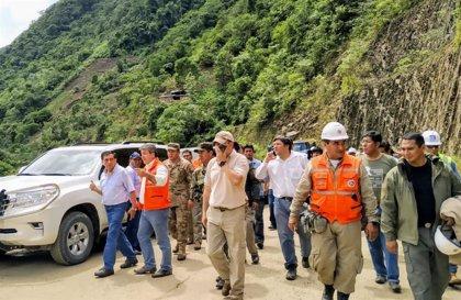 Ascienden a 13 muertos, 2 desaparecidos y 25 heridos las víctimas por los deslizamientos de tierra en Bolivia
