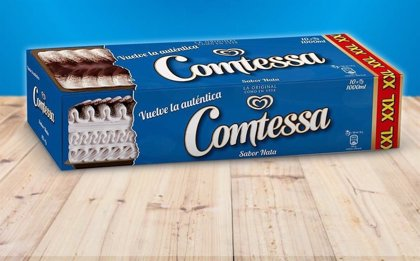 La tarta Comtessa recupera su mítico nombre y deja de ser Viennetta tras la petición de 20.000 personas