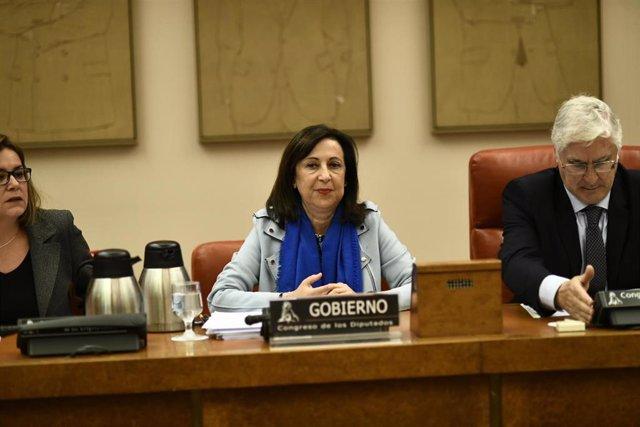Comisión de Defensa en el Congreso de los Diputados