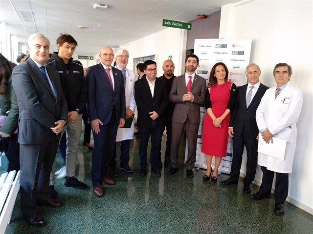 Presentación del proyecto del 5G en el Hospital Clínic de Barcelona
