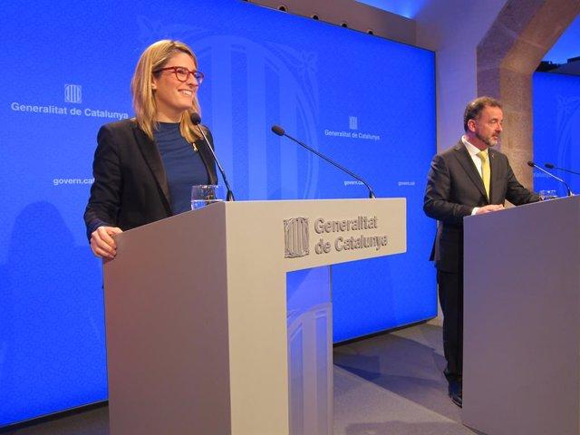 Elsa Artadi i Pere Aragonès