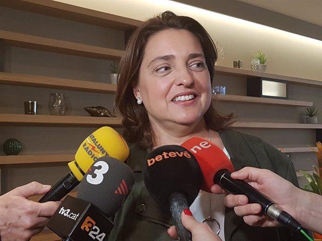 La regidora a l'Ajuntament de Barcelona Sònia Recasens