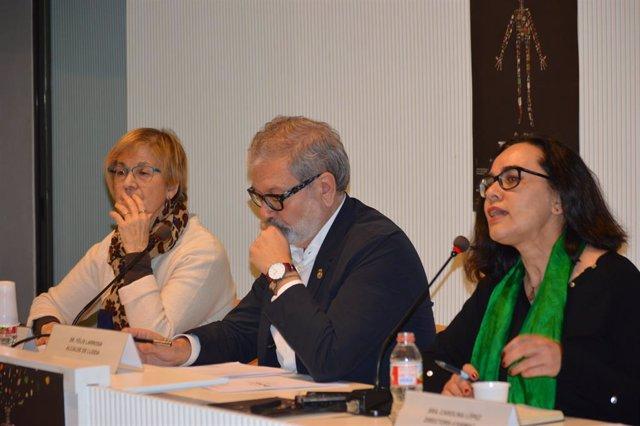 Montse Parra, Fèlix Larrosa i Carolina López