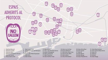 El protocol de Barcelona contra les agressions masclistes en l'oci nocturn suma 23 espais més