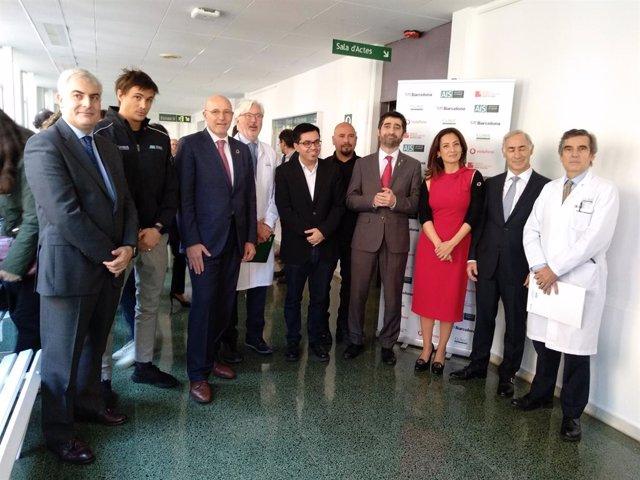 Presentació del projecte del 5G a l'Hospital Clínic de Barcelona