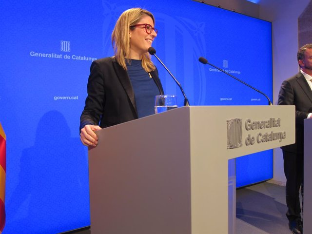 La consellera de Presidència i portaveu del Govern català, Elsa Artadi