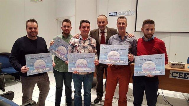 Ganadores del concurso del CEEI