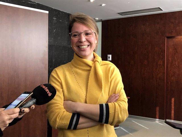La tinent d'alcalde de Barcelona, Janet Sanz