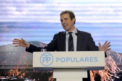 """Casado: """"Si ERC i el PDeCAT no donen suport als PGE, Sánchez ha de convocar eleccions tret que governi a cop de decret"""""""