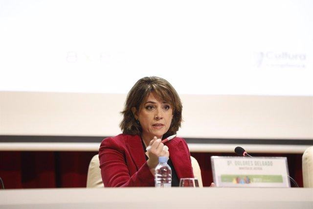 La ministra de Justícia, Dolores Delgado (arxiu)
