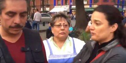 Se viraliza una trifulca entre tres funcionarios en pleno centro histórico de Ciudad de México