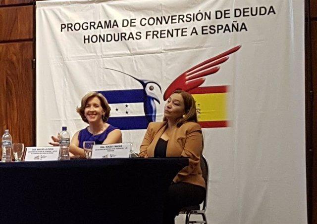 Cierre programa de conversión de deuda Honduras frente a España