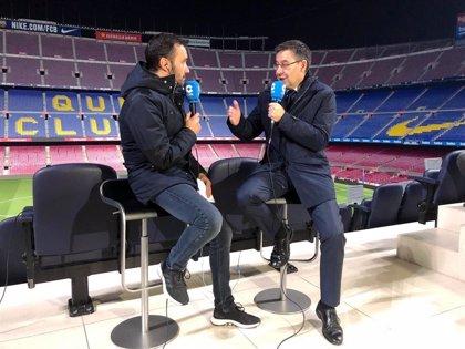 """Bartomeu: """"Por supuesto que ficharíamos a un jugador del Real Madrid si lo piden los técnicos y se quiere ir"""""""